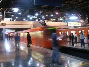 The Mexico City Metro system is a cheap and convenient way to get around the city.