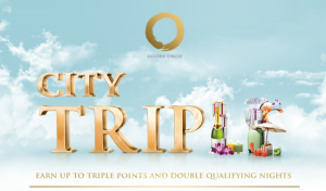 Triple Points and Double Elite Nights with Shangri-La.
