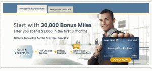 The United Explorer card now has no foreign transaction fees.