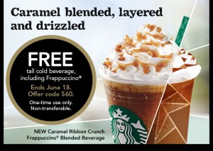 Receive a Free Tall Cold Beverage at Starbucks Through Tuesday.
