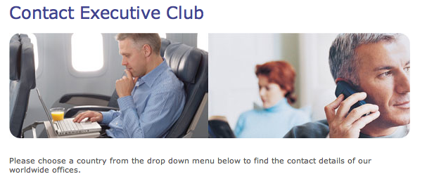 Be aware the Executive Club closes at 8pm ET.