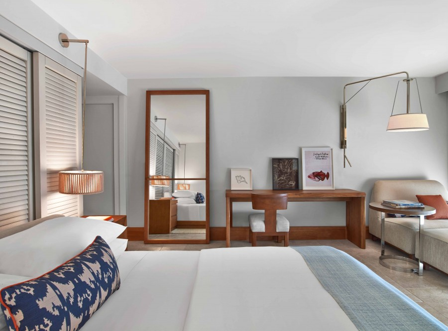 A guest room at the Andaz Maui.
