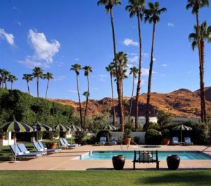 Among those hotels going up - the Parker Meridien in Palm Springs where I stayed over the summer.