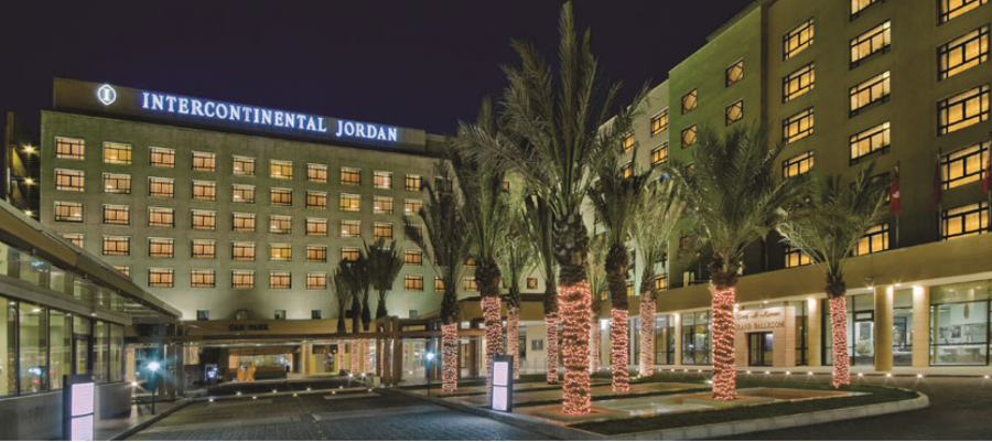 The InterContinental Jordan is on the current list of PointBreaks.