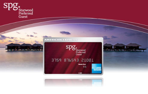 Starwood Preferred Guest Card from American Express