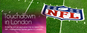 Virgin Atlantic is offering the chance to win two round trip tickets to London to see the NFL International Series.