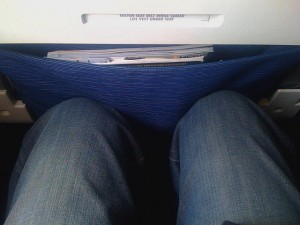 "Spirit Airlines ""pre-reclined"" seat courtesy of wired.com"