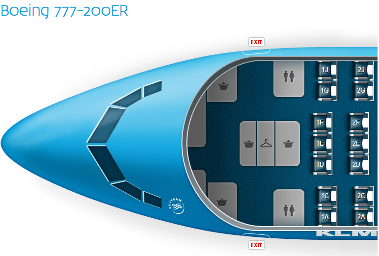 Boeing 767 200 Seating Images