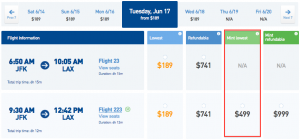 Tickets for the first 4 days of service are on sale for $499 each way.