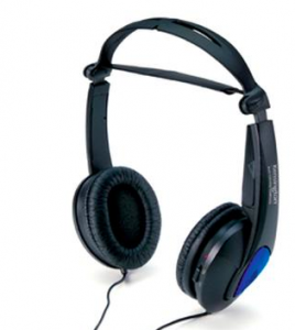 The Kensington headphones are great to use with in-flight entertainment on a tablet.