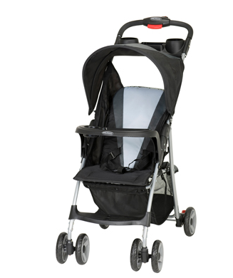 The Passport Stroller is easy to fold and store on a plane.