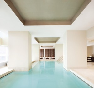 The hotel's spa was voted #1 by T+L. Photo courtesy of hotel.