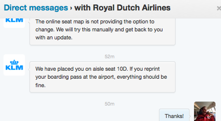 Klm seat assignments