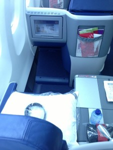 Seat 6A is a window seat with direct aisle access.