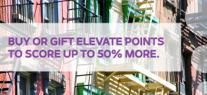 Earn up to a 50% bonus on purchased Elevate points.