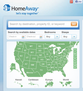 Maximize your points on HomeAway rentals by booking with Chase Sapphire Preferred through Expedia.