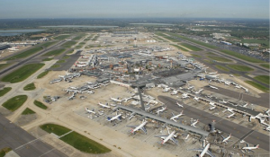 130 flights were canceled in and out of London Heathrow airport today, October 28, 2013.