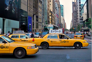 Amex and VeriFone are changing the way you pay for taxis.