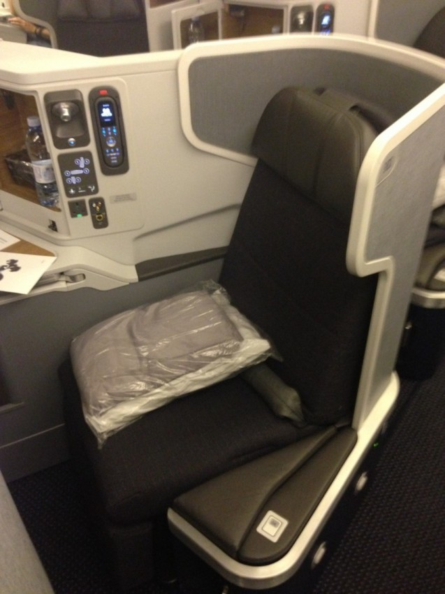 Comparing Business Class On British Airways And American