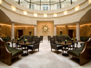 Enjoy a cocktail at the Park Hyatt Milan Lobby Bar.