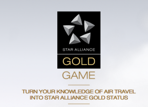 The Star Alliance Gold Game.