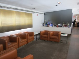 The lounge area of the third floor.