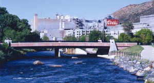 Have a beer at Golden, the Coors Brewery.