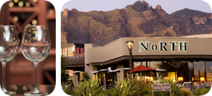 North is a trendy restaurant with a beautiful outdoor area with amazing views!