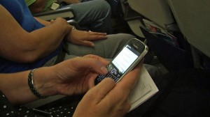 According to OnAir, in flight cell phone seems to be used minimally and respectfully so far.