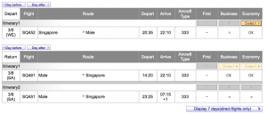 You have to use ANA to search Singapore awards, but there's decent availability on regional routes.