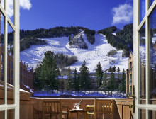 A view from the St. Regis Aspen