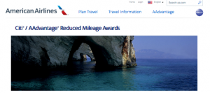 Citi Aadvantage reduced
