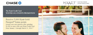 Earn Hyatt Gold Passport bonus points with this promotion.