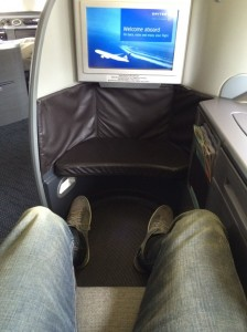 I had seat 2K on the short hop between Sydney and Melbourne.