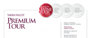 We booked a premium tour with Australian Wine Tour Company.