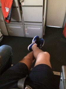 Leagues of legroom.
