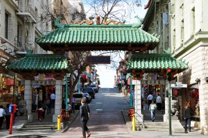 The gateway to San Francisco's Chinatown