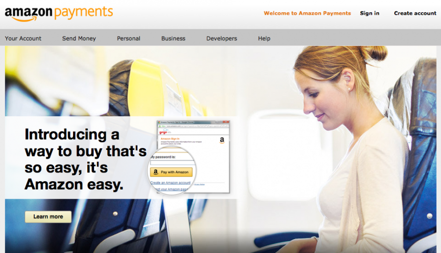 Amazon Payments can help you make credit card payments to individuals.