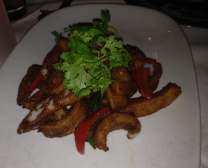 The chili salt squid at China doll.