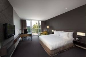 King Balcony Room at the Crown Plaza Adelaide