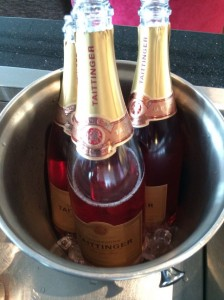 The Champagne served at Heathrow's Galleries First lounge is Taittinger