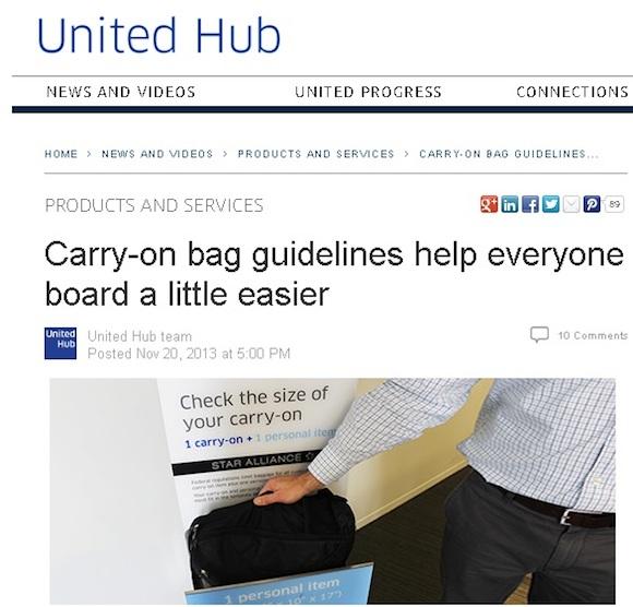 united s strict new carry on baggage rules go into effectthe points