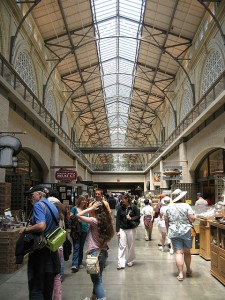 Interior of the Ferry Marketplace Building
