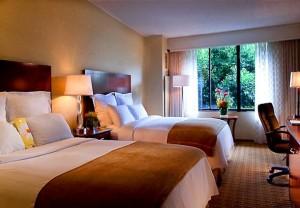 Double Guest Room at Marriott San Francisco Fisherman's Wharf