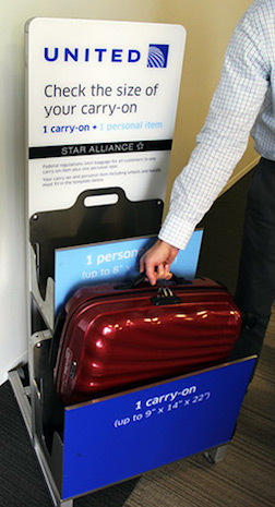 United's Strict New Carry-On Baggage Rules Go Into
