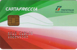 The Freccia card allows you to earn points for travel.