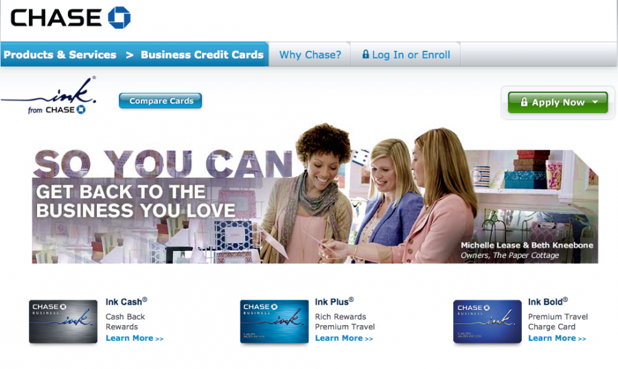 Chase's Ink cards are among the top business credit cards on the market.