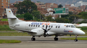 Easy Fly is a Columbian low-cost  carrier.