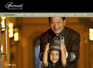 Double miles and discounts for Fairmont President's Club members.