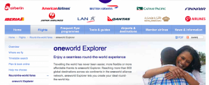 The sudden loss of the Oneworld Explorer award is a huge blow to the program